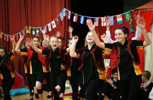 Surya Arts visited St Aldhelm's Academy to present Surya's Story and involve the pupils in practical exercises of dance, music and art culminating in a march around the school.