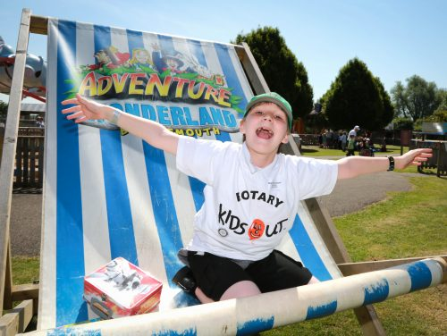 Rotary treats pupils to a fun day out