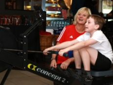 Schoolboys put their pedal to the metal for new playground equipment