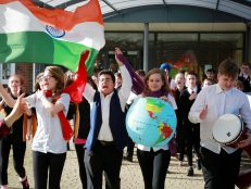 St Aldhelm's bangs the drum against global inequality