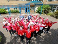 New school partnership celebrates a year of success