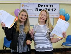 Oak A-levels on the up